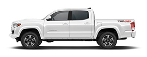 Instructions on how to install a tailgate seal with taperseal® on Toyota Tacoma